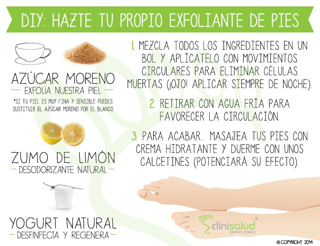 Exfoliante pies Clinisalud